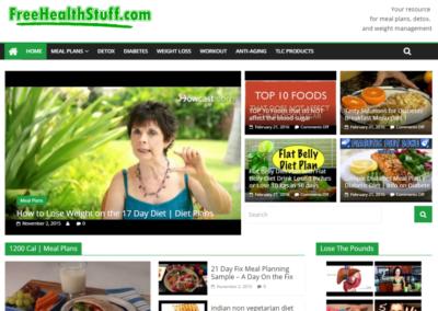 FreeHealthStuff | Video Blog