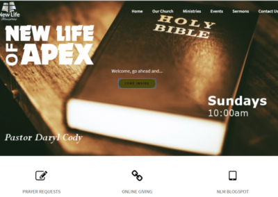 New Life of Apex | Church
